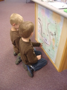 Checking out other chalk talk drawings.