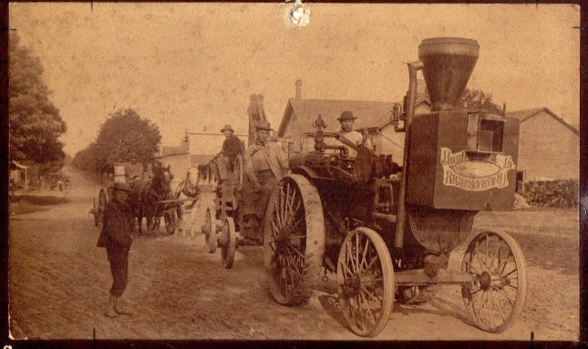 First Steam Tractor